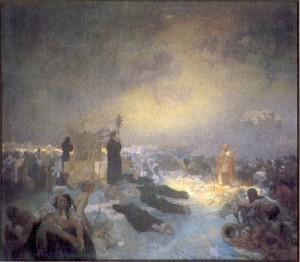 Alphonse Mucha - Slav Destanı - no11