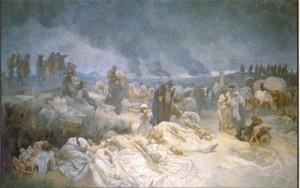 Alphonse Mucha - Slav Destanı - no12