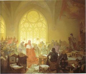 Alphonse Mucha - Slav Destanı - no13