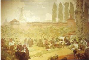 Alphonse Mucha - Slav Destanı - no15