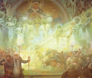 Alphonse Mucha - Slav Destanı - no17