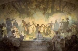 Alphonse Mucha - Slav Destanı - no18