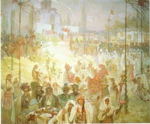 Alphonse Mucha - Slav Destanı - no6