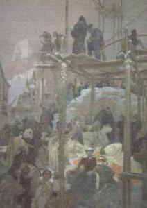 Alphonse Mucha - Slav Destanı - no7