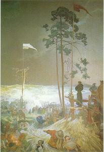 Alphonse Mucha - Slav Destanı - no9