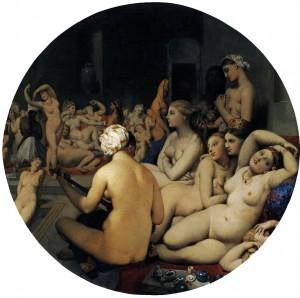 Ingres'in Turkish Bath isimli resmi