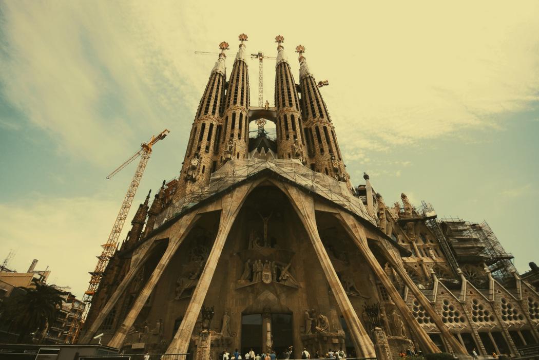 La Sagrada Familia - Barselona - Antoni Gaudi Fotoğraf : Oylum Yüksel