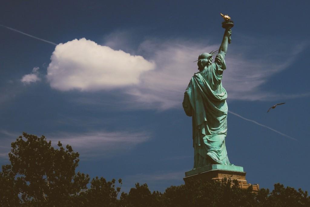 Özgürlük Heykeli - New York -  Frederic Auguste Bartholdi      Fotoğraf : Oylum Yüksel