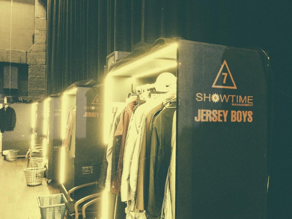 Jersey Boys Sahne Arkası