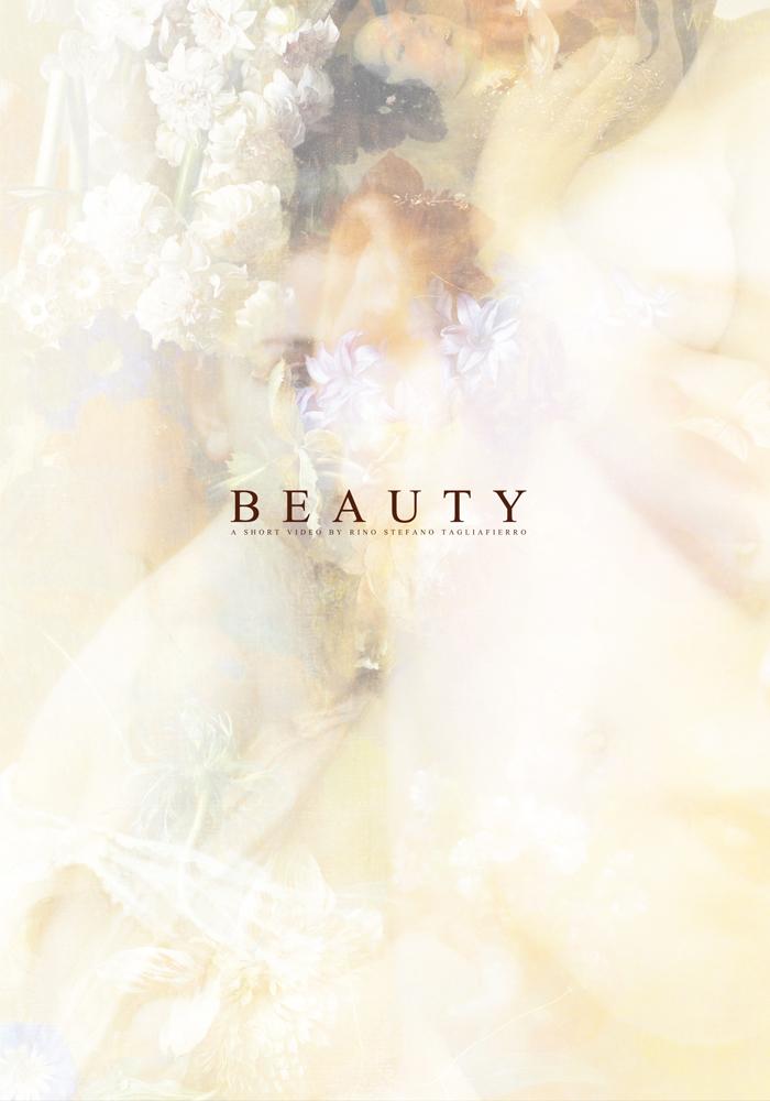 """Beauty için hazırlanan """"beyaz"""" poster"""