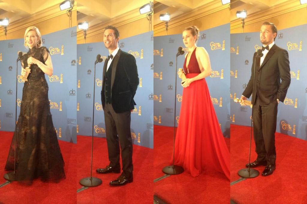 71. Golden Globe Ödülleri Kazananlar