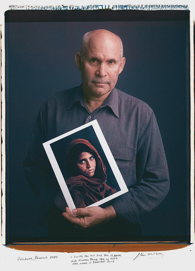 Steve McCurry - Afgan Kızı