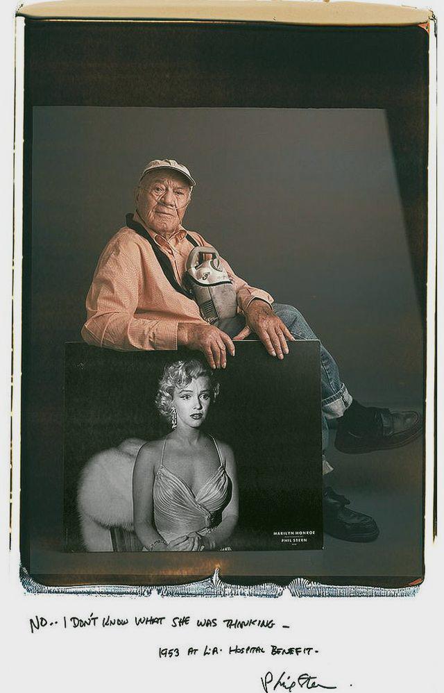 Phil Stern - Marilyn Monroe
