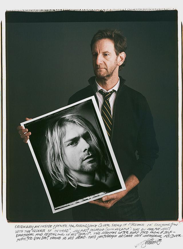 Mark Seliger - Kurt Cobain