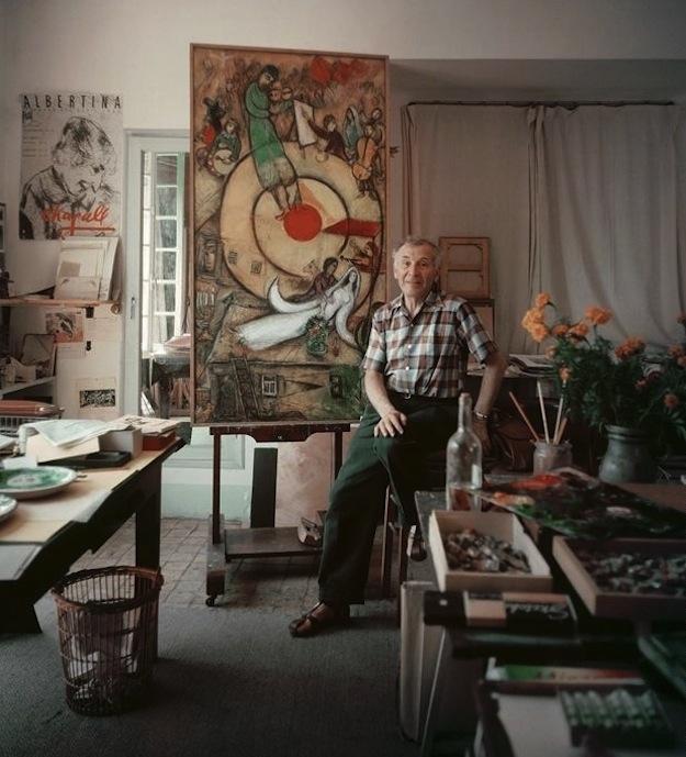 Marc Chagall, ressam