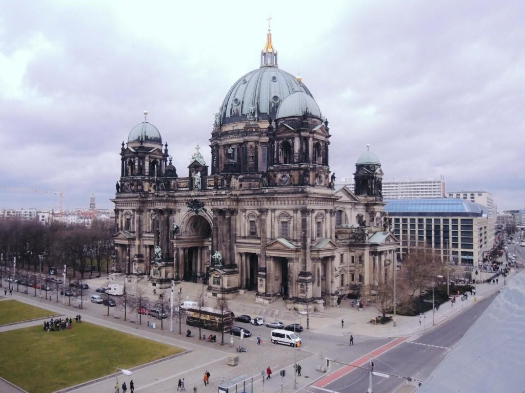 Humboldt Box'dan berlin Katedrali