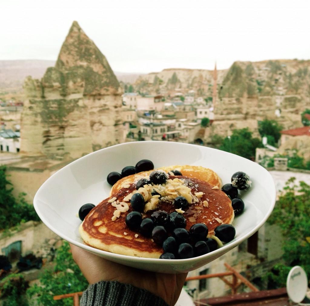 Taşkonak Hotel'de Angela'nın Pancakeleri