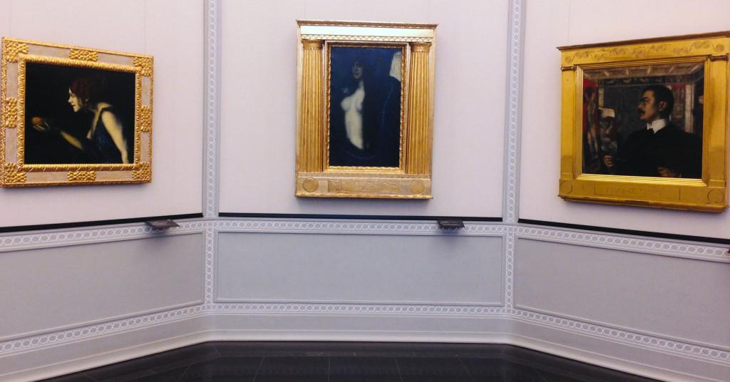 Alte Nationalgalerie'deki Stuck sürprizi