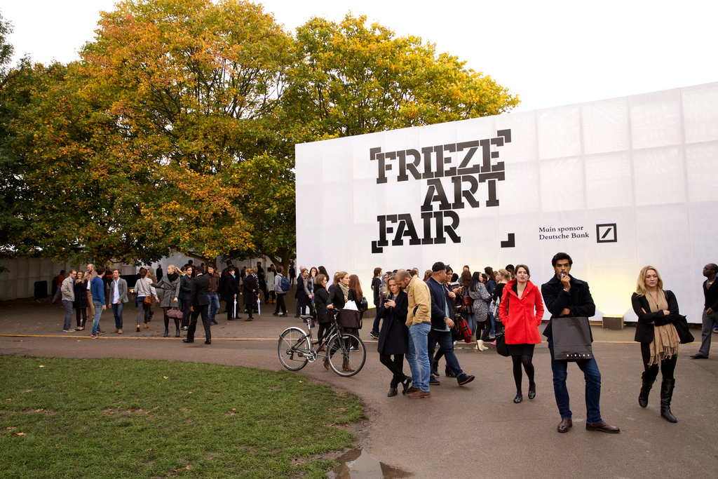 Frienze London / Londra, İngiltere – 16-19 Ekim 2014 friezelondon.com