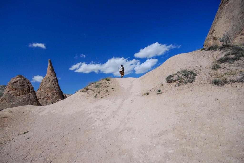 Kapadokya, Devrent Vadisi, Nisan 2014, fotoğraf Oylum Yüksel