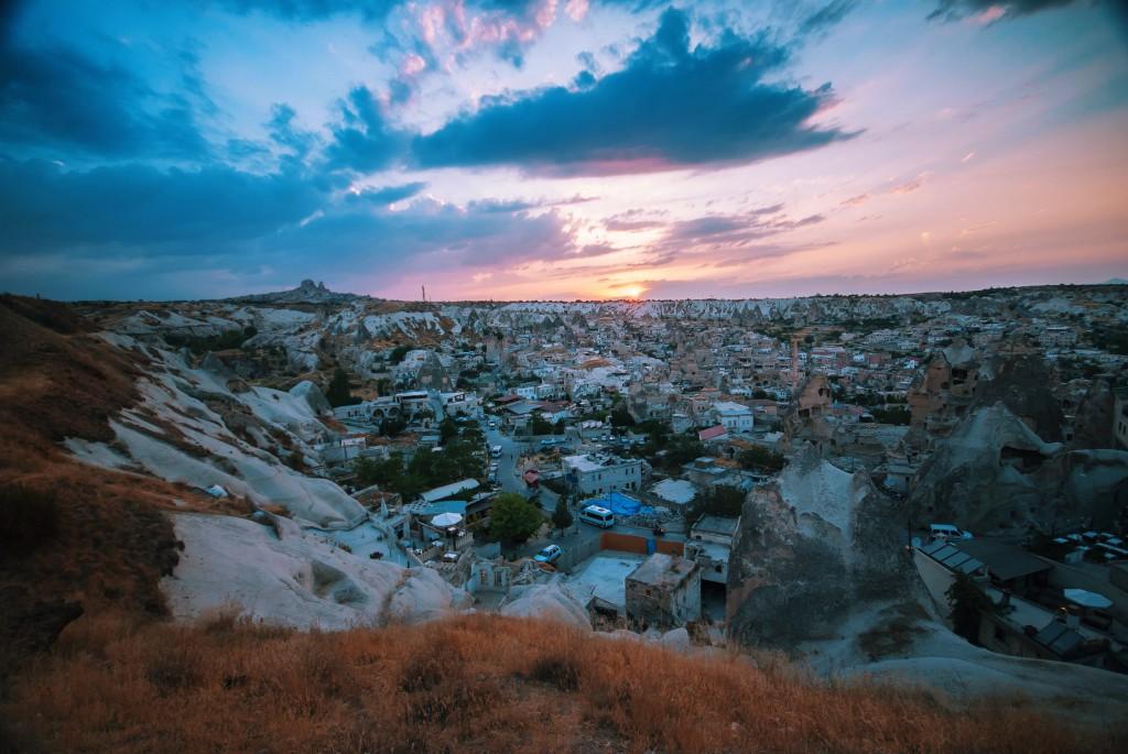 Kapadokya, Göreme Sunset Point, Nisan 2014, fotoğraf Onur Yüksel