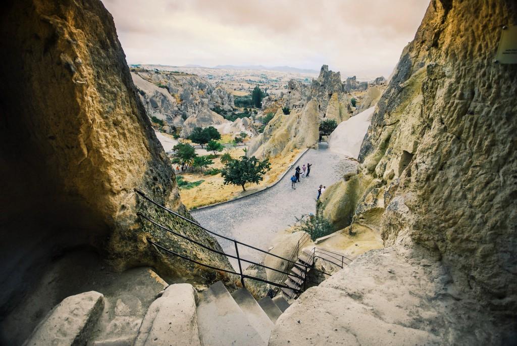 Kapadokya, Göreme Açıkhava Müzesi, Eylül 2013 fotoğraf Oylum Yüksel