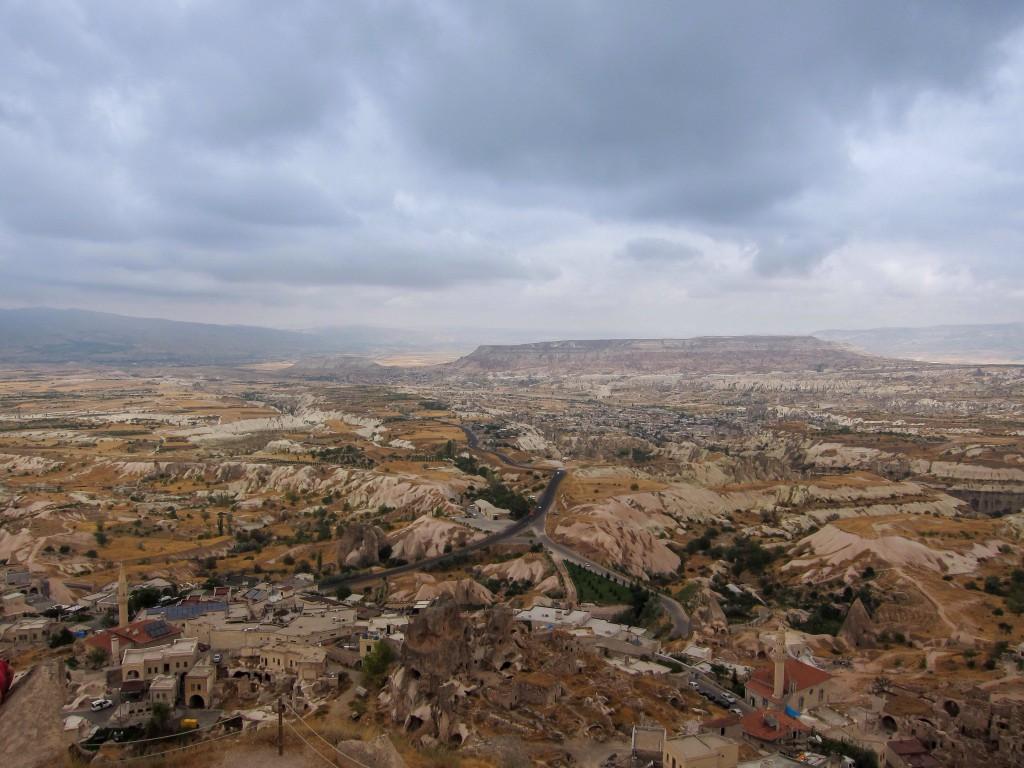 Kapadokya, Uçhisar, Nisan 2014, fotoğraf Oylum Yüksel