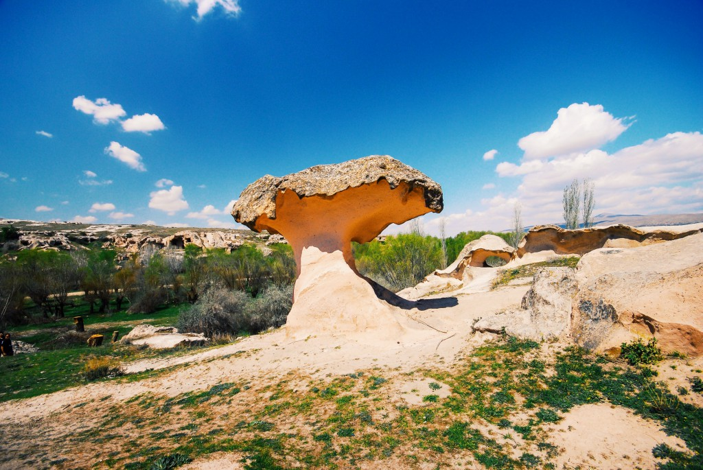 Kapadokya, Mantar Kaya, Nisan 2014 fotoğraf Oylum Yüksel