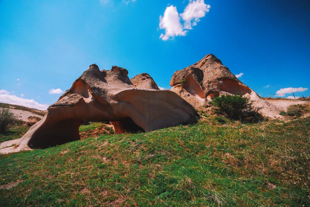 Kapadokya, Açık Saray, Nisan 2014, fotoğraf Oylum Yüksel