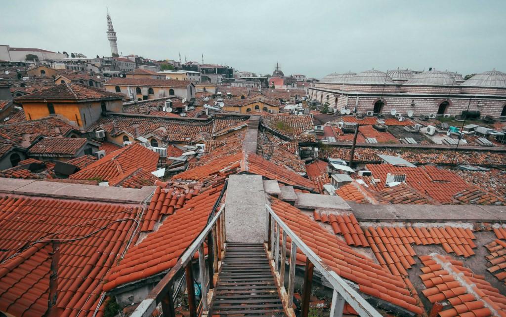 Kapalıçarşı'nın Çatısı, Fotoğraf : Oylum Yüksel