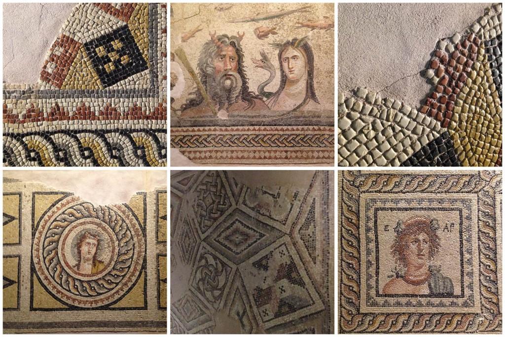 Zeugma Müzesi'nden Mozaik Detayları