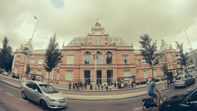 Paulus Potterstraat üzerinden Stedeljik Müzesi - Temmuz 2014