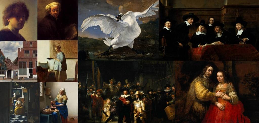 Rijksmuseum'da bu resimleri görmeli