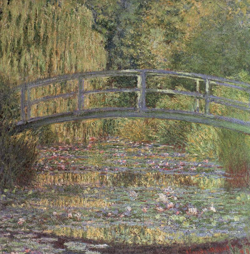 baya-iyi-Claude Oscar Monet - The Water Lily Pond (1889)