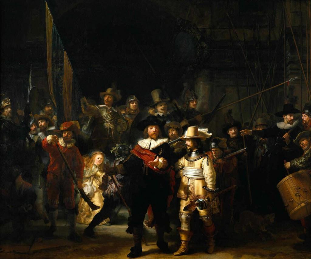 Night Watch – Gece Devriyesi (1642)