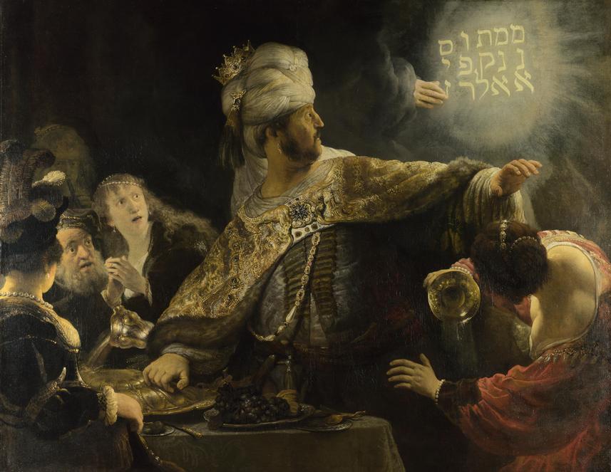 Belshazzar's Feast (1636-38)