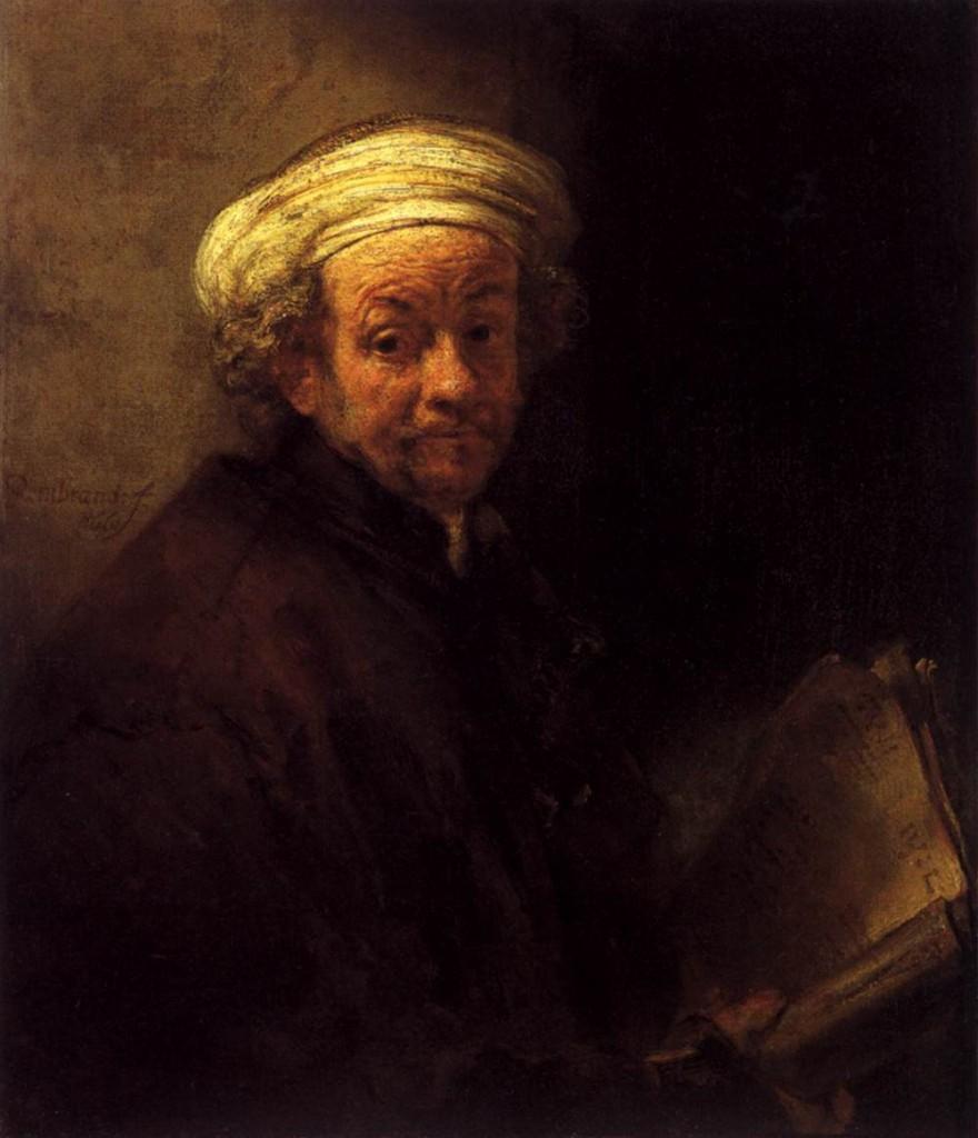 Self-portrait as the Apostle St.Paul (1661)