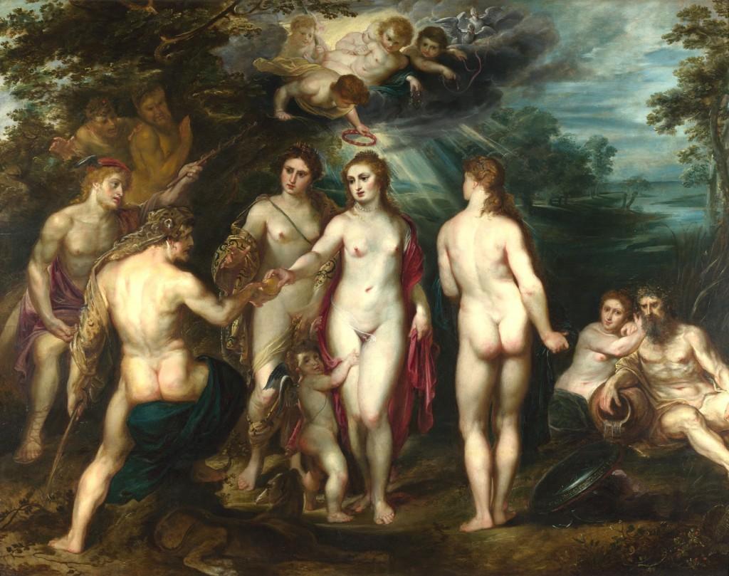 BACH - Peter Paul Rubens - The Judgement of Paris