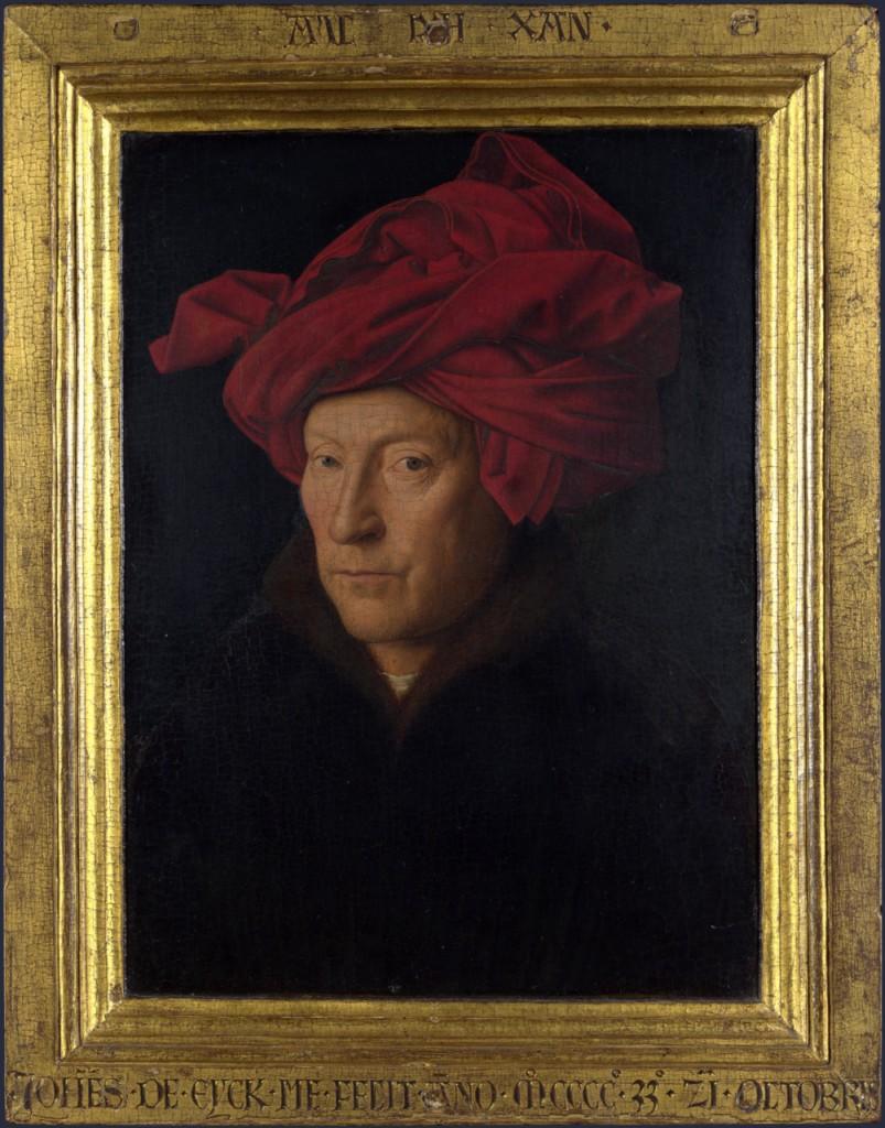 Jan Van Eyck-Portrait