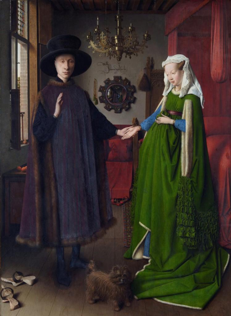 Jan Van Eyck-The Arnolfini Portrait