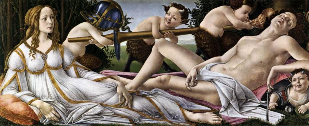 Sandro Botticelli-Venus and Mars