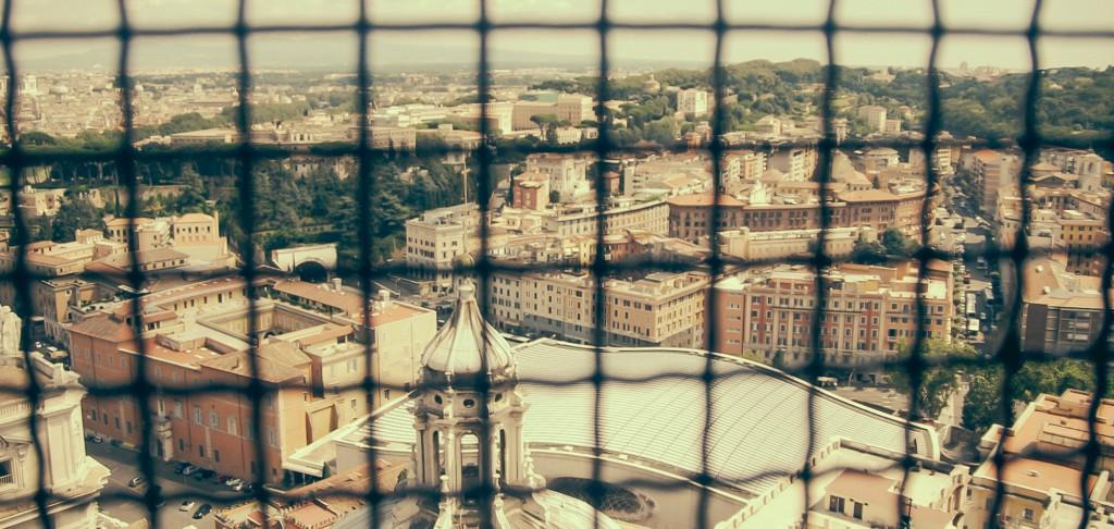 Dome'a çıkarken soluklandığımız pencerelerden biri - 2014