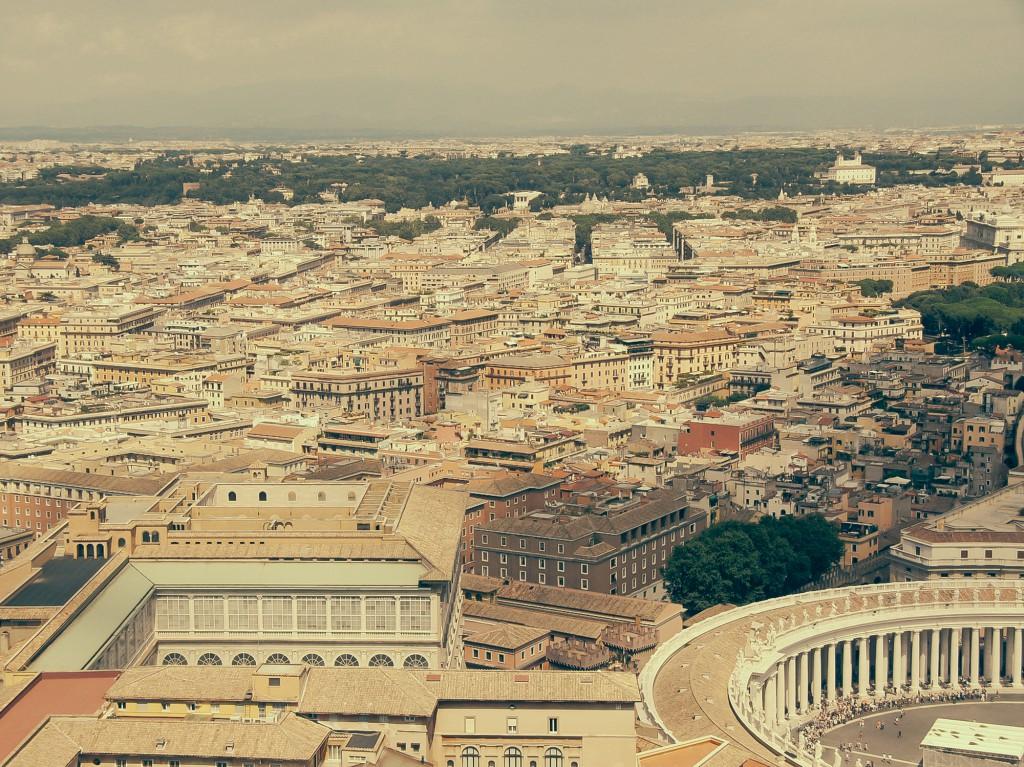 Dome'un üzerineden Roma - 2014