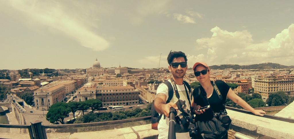Castel Angelo'dan Vatikan - 2014