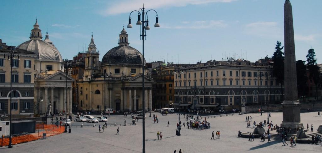 Popolo Meydanı - Roma Fotoğraf : Oylum Yüksel