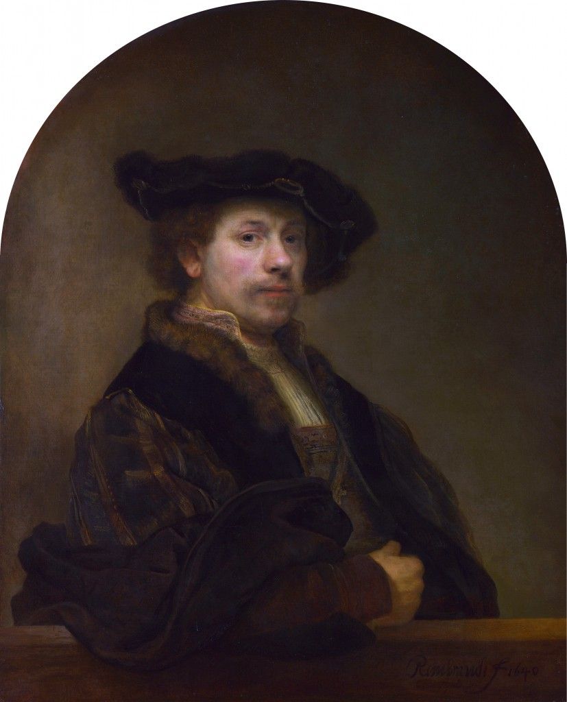 self portrait at the age of 34 rembrandt