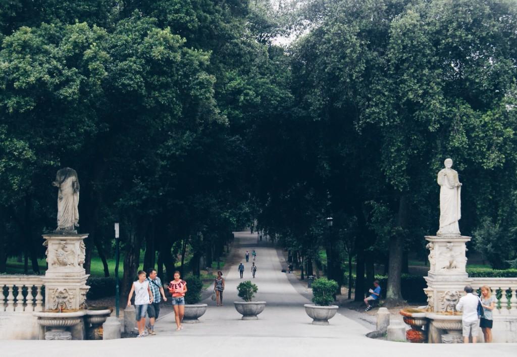 Museo Borghese caddesi