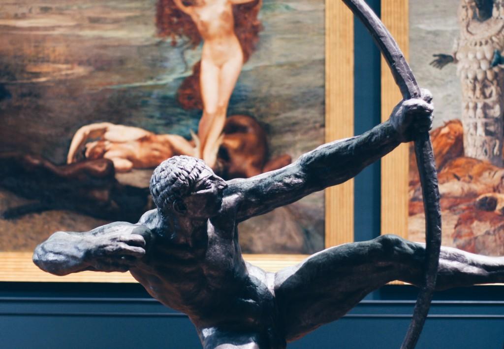 Emile-Antoine Bourdelle'den Hercules Darting