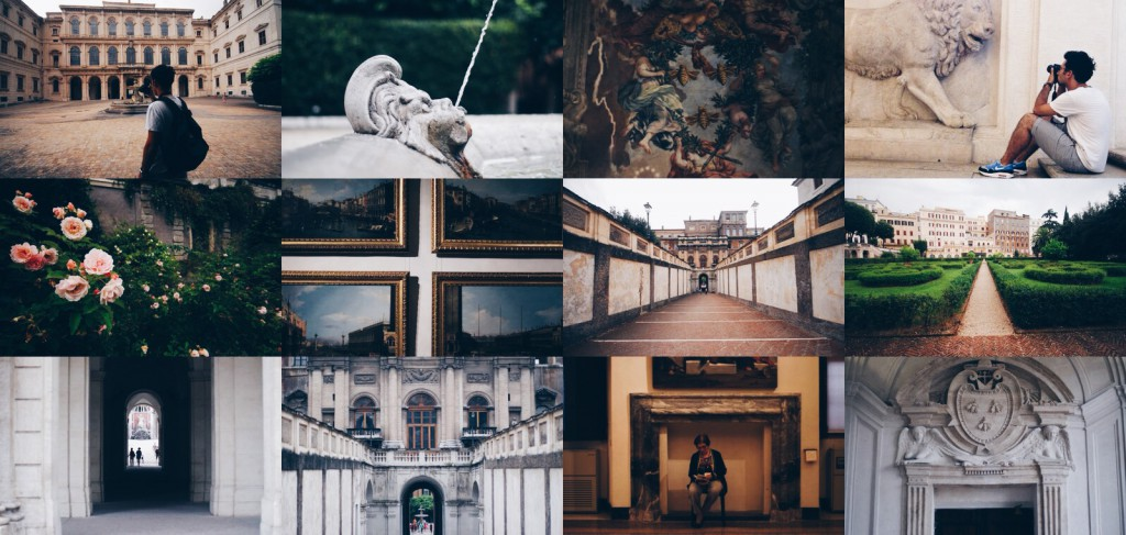 Palazzo Barberini ve Galleria Nazionale d'Arte Antica