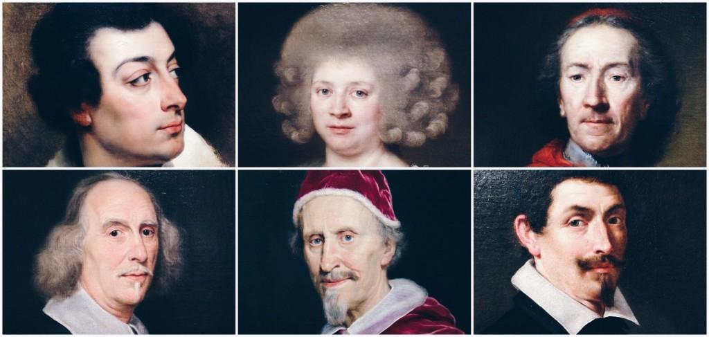Galleria Nazionale d'Arte Antica koleksiyonundan portreler